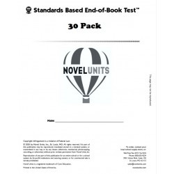 Al Capone Does My Shirts (End of Book Test - Classroom Pack)